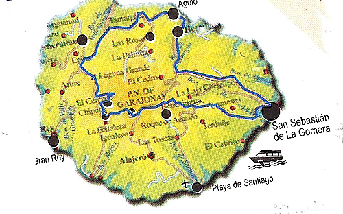 ekskursija na la Gomeru